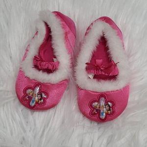 Disney princess slippers- size 7/8